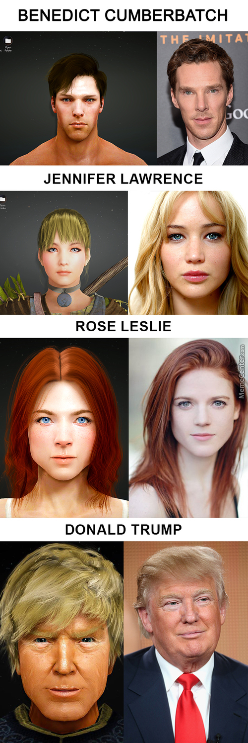 "Celebrities In ""black Desert Online"", The Most Realistic Character Creation In A Mmorpg (Part 3)"