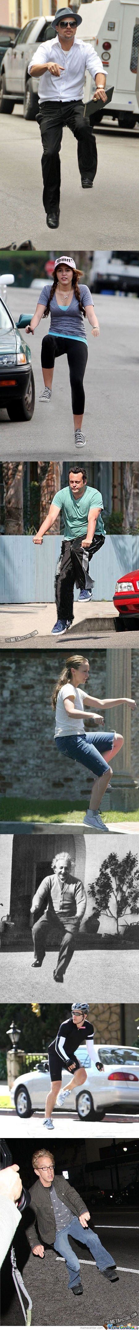Celebs Without Their Bikes