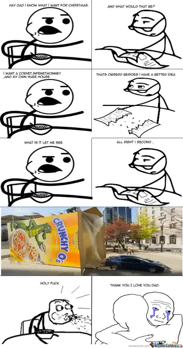 Cereal Guy Gift