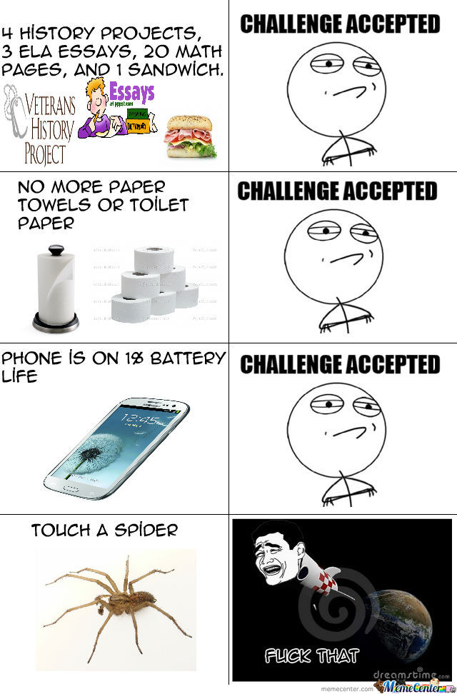 Challenge Accepted Rage