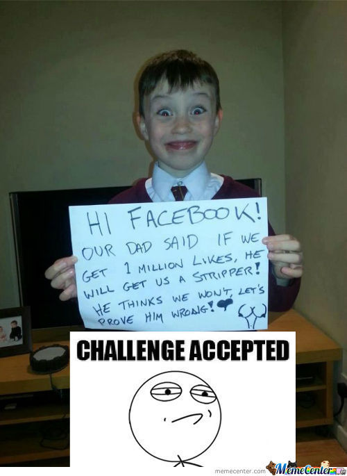 Challenge From Troll Dad