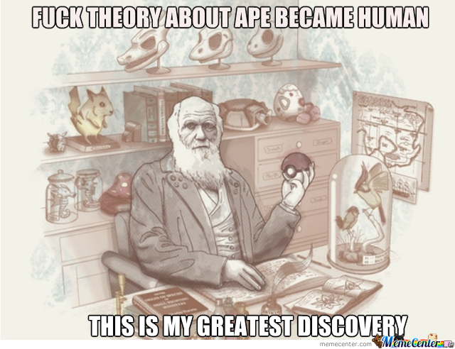 Charles Darwin And Pokemon