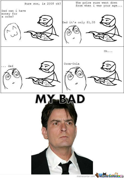 Charlie Sheen...true Story...i Was There...