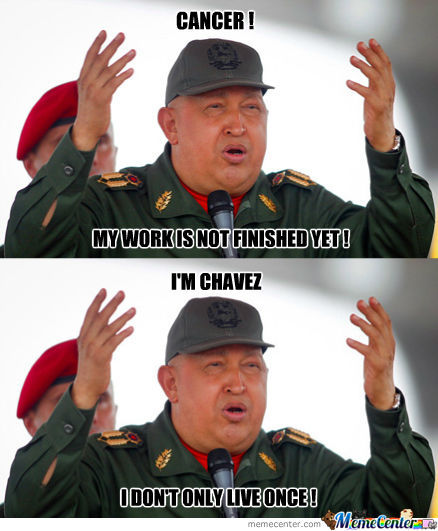 Chavez, Not Even Once