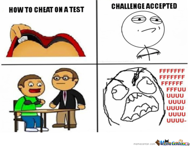 Cheating Lesson #1