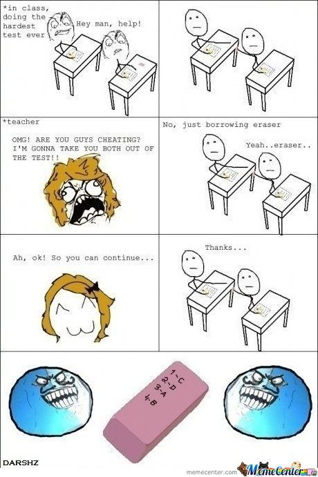 Cheating Like A Boss...