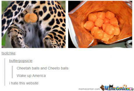 Cheetah Balls And Cheeto Balls