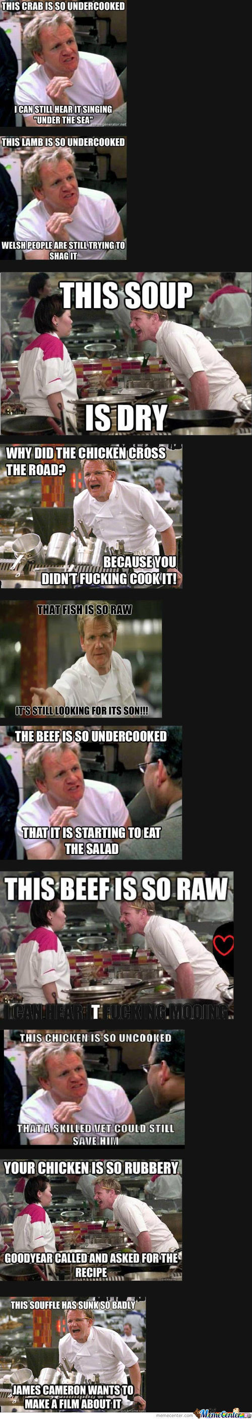 Chef Gordon Ramsay Compilation