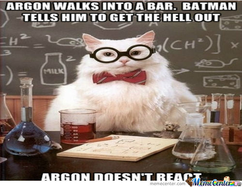 Chemistry Cat Strikes Again