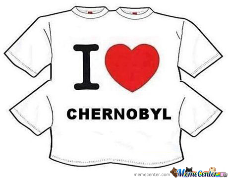 Chernobyl's Most Popular Shirt