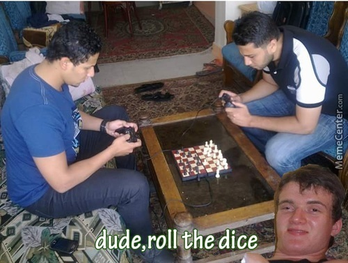 Chess-Not Even Once