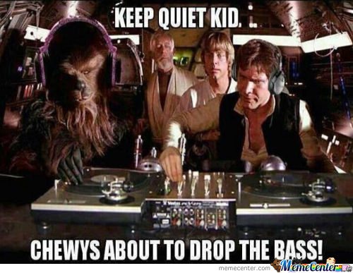 Chewy Is About To Drop The Bass