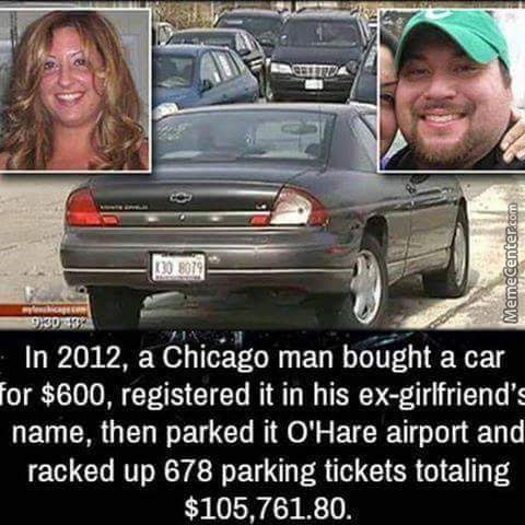Chicago Man Is A Scumbag