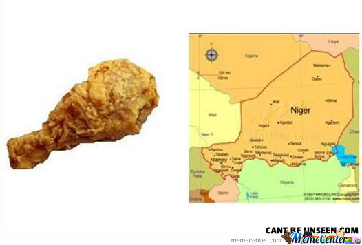 Chicken=Niger? Can't Be Unseen