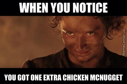 Chicken Nugget Frodo