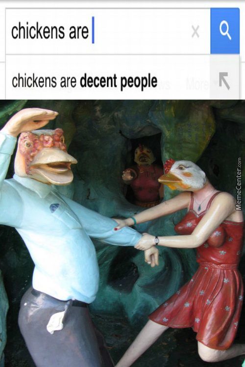 Chicken People Are Decent People