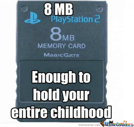 Childhood Summed Up In 8Mb