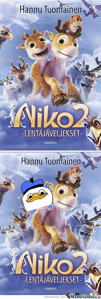 Children's Movie Poster... Only In Finland