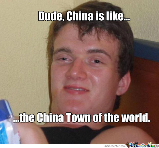 China...the China Town Of The World