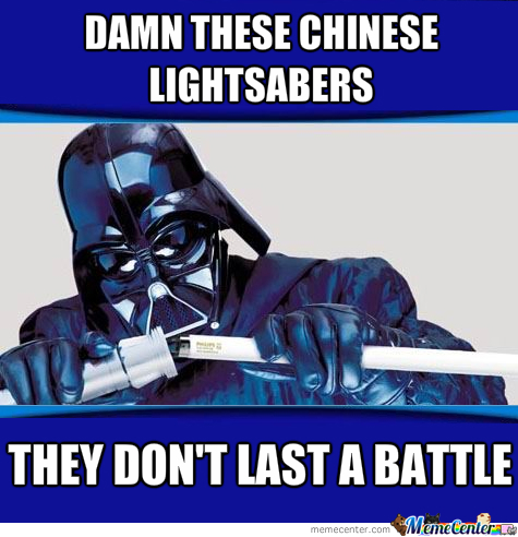 Chinese Lightsabers