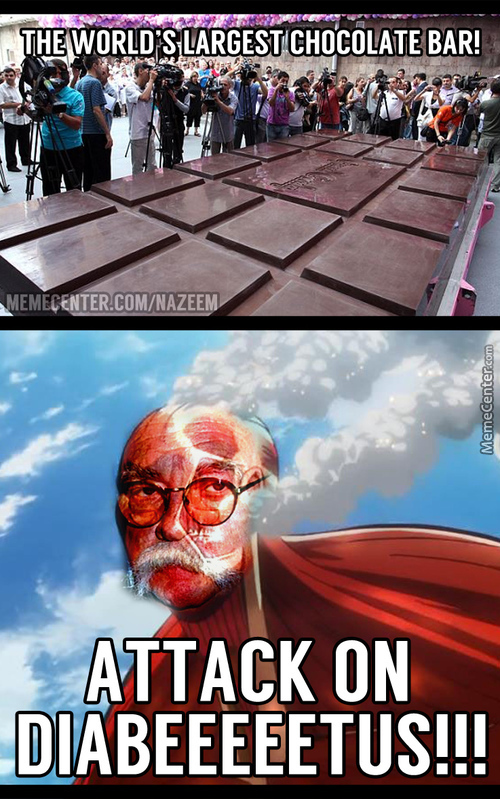 Chocolate For Titans?!