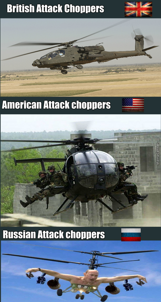 Choppers....