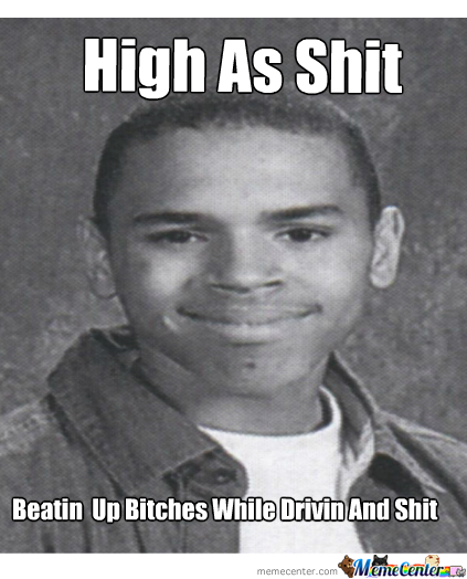 Chris Brown High As A Mofo