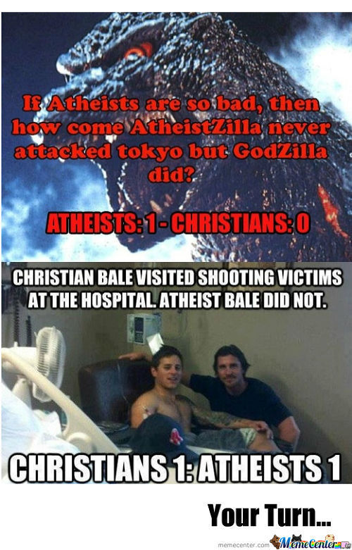 Christians Vs Atheist