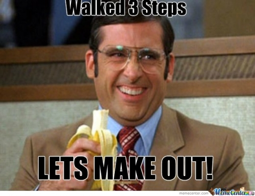Walked 3 Steps