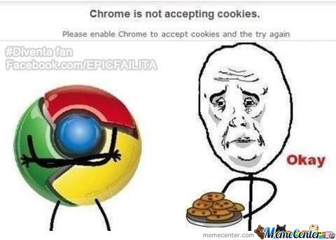 Chrome And Cookies
