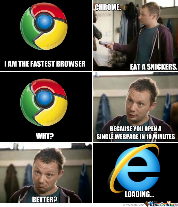 Chrome Snickers Meme