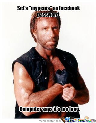Chuck Norris And His Penis