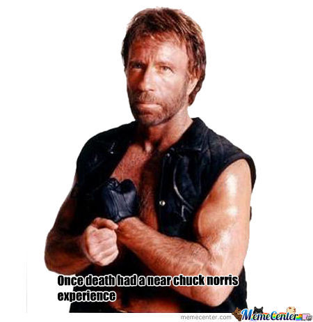 Chuck Norris Doesn't Need A Title