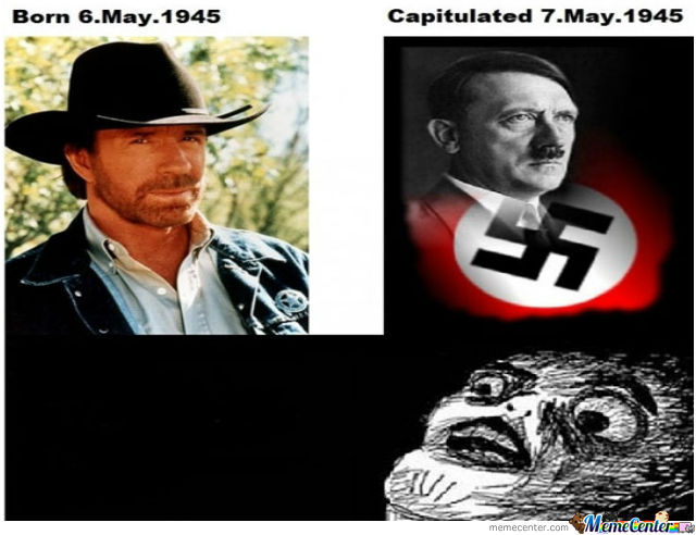 Funny Ww2 Memes: Chuck Norris Ended Wwii By My5ticninja