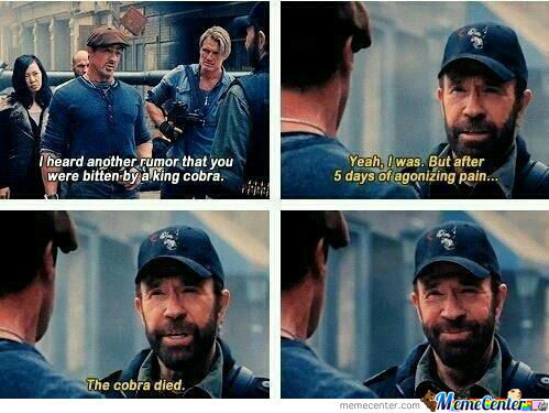 Chuck Norris Is A Legend!!