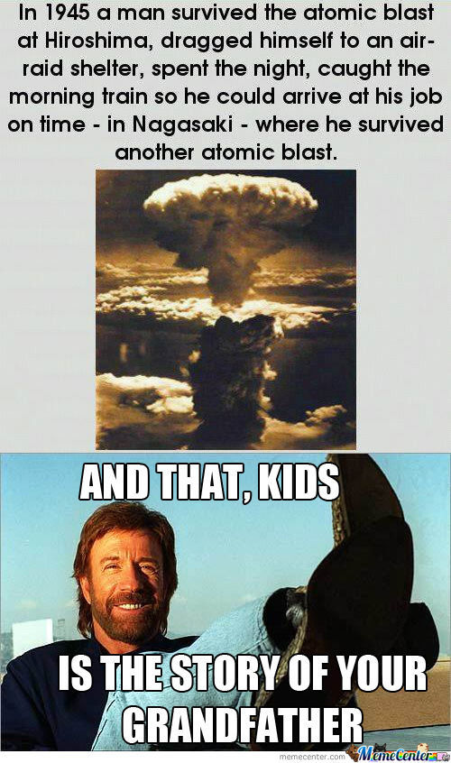 Chuck Norris Tells A Story