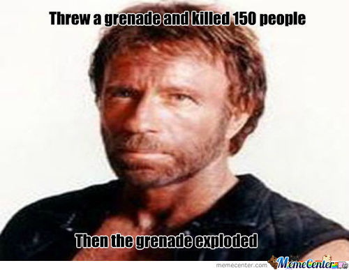 Chuck Norris Will Be The Manliest Man Forever
