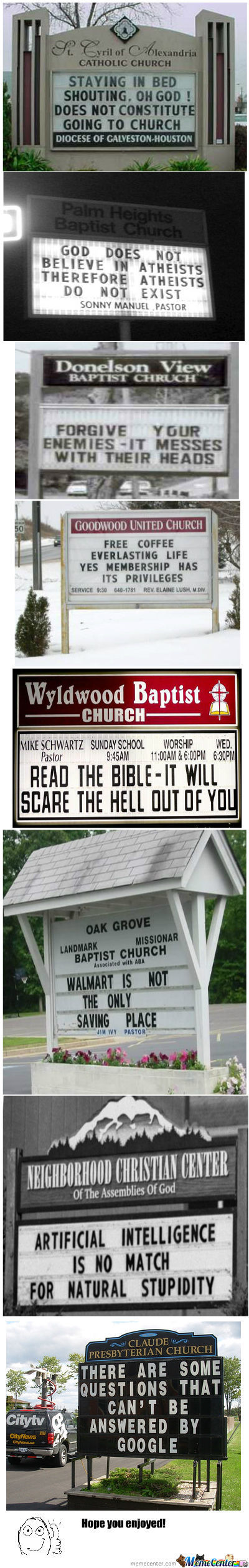 Church Signs Compilation