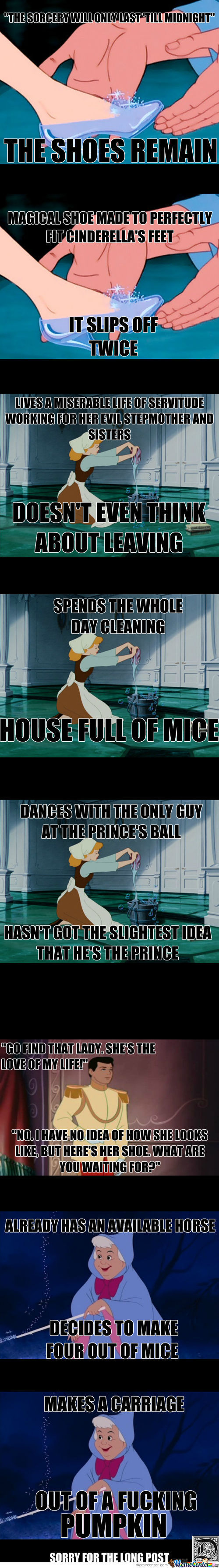 Cinderella's Unquestionable Logic