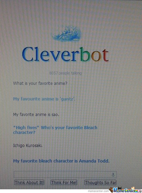 Cleverbot Did It Again