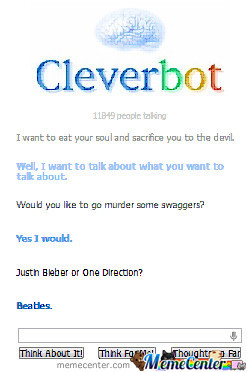 Cleverbot Owned