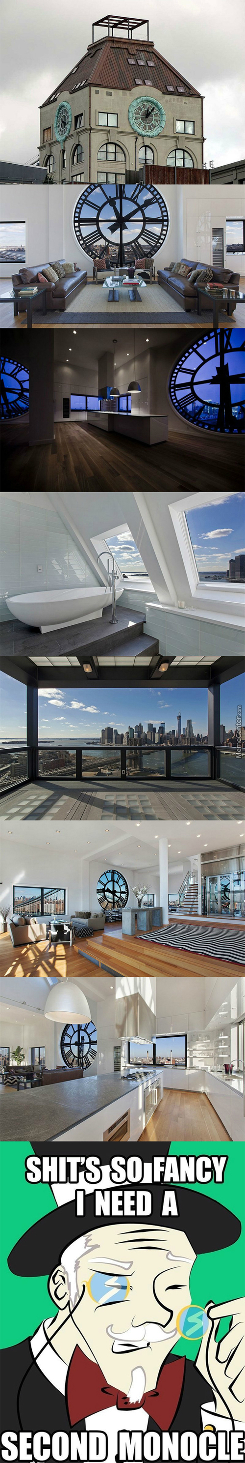 Clock Tower Penthouse Anyone?