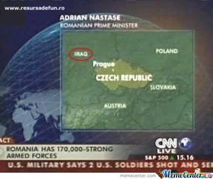Cnn Geography!