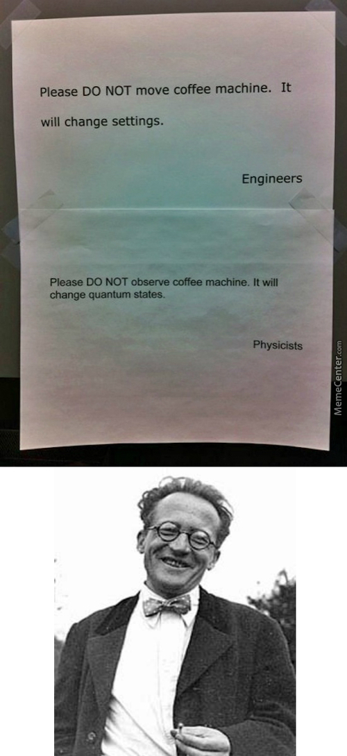 Coffee Machine And It's Quantum State