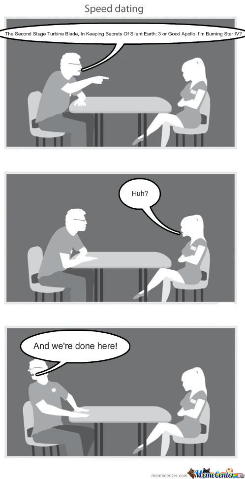 Coheed Speed Dating.