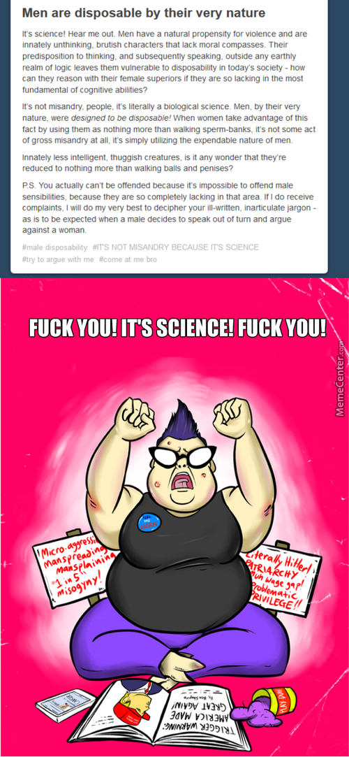 Come At Me Bro It's Science