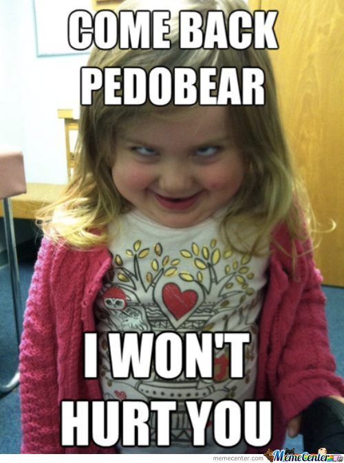 Come Back Pedobear
