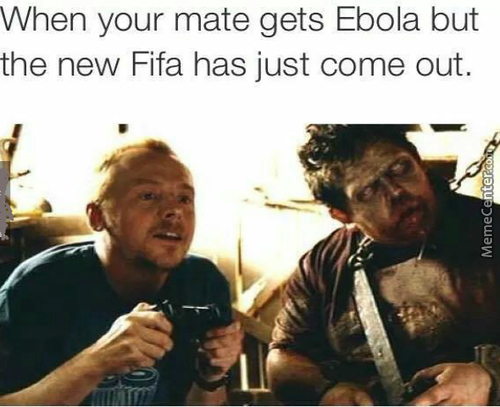 Come On Man...ebola Is Only A Deadly Parasite. What Could Go Wrong?
