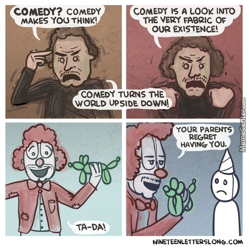 Comedy Is Truth
