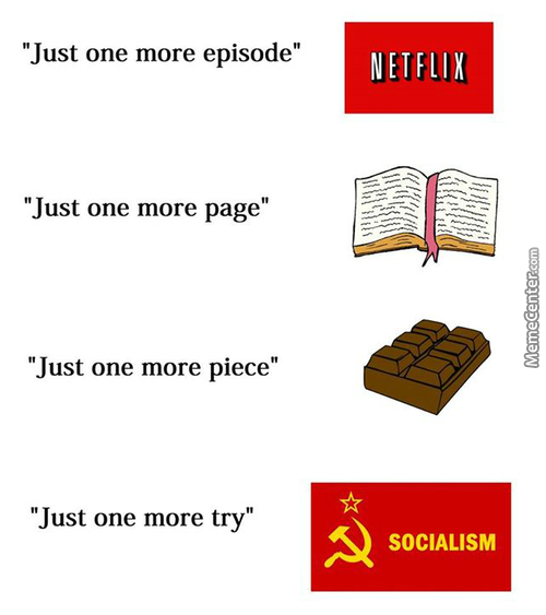 "Commies Be Like ""it's The Peoples Fult Not Communism :d"""